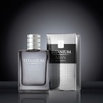 Titanium Man EDP Carton & Bottle on black