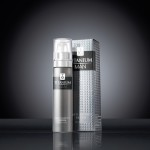 Titanium Man Serum 30 ml Bottle & Carton on black